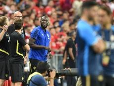 A Inter procura companhia para Lukaku. AFP