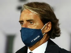 Mancini leaves coronavirus behind him. AFP