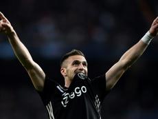 El Ajax se quedó a las puertas de la final. AFP