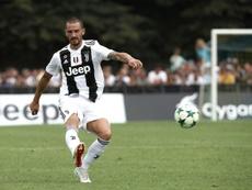 Bonucci pudo fichar por los dos clubes de Mánchester. AFP