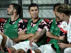 Sarri reserva a Cristiano ante el Triestina. AFP