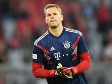 Neuer aussi a souffert des erreurs de Karius en finale de C1. AFP