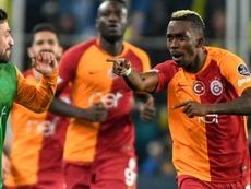 El Galatasaray está libre de coronavirus en estos momentos. AFP/Archivo