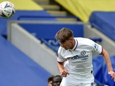 Golpe a la carrera de un joven talento del Chelsea: estará fuera 3-4 meses. AFP