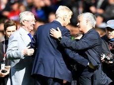 Wenger répond à Mourinho. AFP