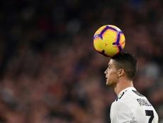 Cristiano ya tanteó antes el irse del Madrid. AFP
