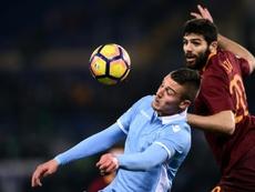 Milinkovic-Savic rêve de changer d'équipe. AFP