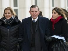 El ex presidente de la CONMEBOL habría contraído el COVID-19 en la cárcel. AFP