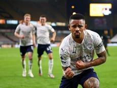 Manchester City repart du bon pied en battant Wolverhampton. AFP