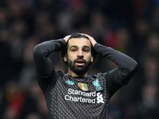 El Atleti se impuso por la mínima ante el Liverpool. AFP