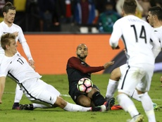Terrence Boyd podría probar suerte en Inglaterra. AFP