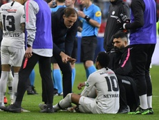 Neymar has been rested for the French Cup match with Pau. AFP