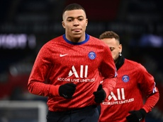 Kylian Mbappe admits he has yet to decide on his future. AFP