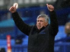 Everton manager Carlo Ancelotti. AFP