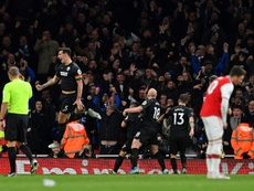 Brighton claimed a famous win over Arsenal as the Gunners lost further ground on the top four. AFP