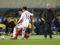 Jorn Andersen analizó el debut de Corea del Norte en la Copa de Asia. AFP