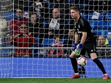 Real Madrid will send Luca Zidane out on loan next season. AFP
