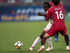 Kashima Antlers aguantó el 2-0 en Irán. AFP