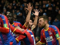 Los londinenses del Crystal Palace eliminaron a un equipo de League One. AFP
