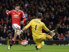 Speroni continuará en el Crystal Palace. AFP