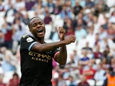 Sterling está entre los mejores jugadores del mundo. AFP