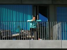 Cristiano Ronaldo repitió positivo en COVID-19. AFP