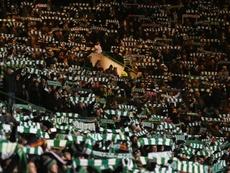 Le Celtic a remporté son triplé. AFP