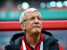 Lippi insistió en que el gol de la 'Séptima' fue en fuera de juego. AFP