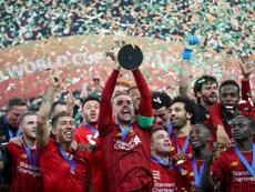 Um Atlético bastante preparado para o Liverpool. AFP
