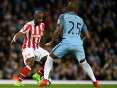 Stoke City résilie le contrat de Berahino. AFP