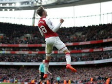 Arsenal's Aaron Ramsey. AFP
