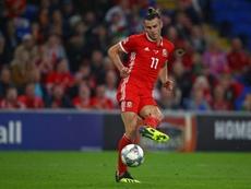 Bale se siente bien con Gales. AFP