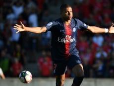 Mbappé élu meilleur joueur du mois d'août. AFP