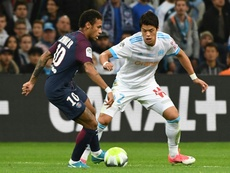 Neymar aurait insulté Sakai. AFP