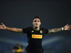 Le Barça déjà en train de négocier pour Lautaro. AFP