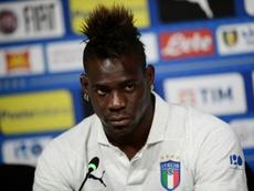 Balotelli podría llegar al Cluj. AFP