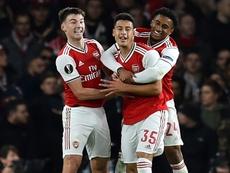 L'étoile montante d'Arsenal aurait pu aller au Barça. AFP