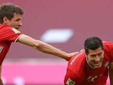 Lewandowski habló sobre la suspensión del Balón de Oro. AFP