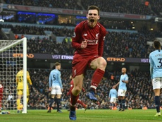 Robertson and the Reds are ready for a tough CL battle. AFP