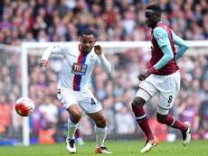 West Ham empatou com o Crystal Palace ainda na primeira parte. EFE