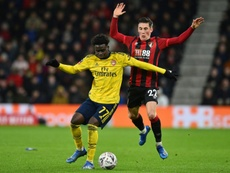 Bukayo Saka could play for Nigeria at senior level. AFP