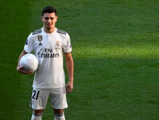 Diaz signed for Real Madrid in January. AFP