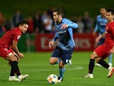 Sydney FC were far too good for Shanghai SIPG. AFP