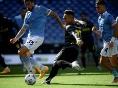 Lautaro ve con buenos ojos irse del Inter. AFP