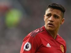 Entre Alexis Sanchez et United, le divorce est acté. AFP