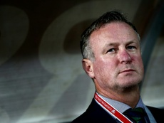 Michael O'Neill's Northern Ireland had a dismal Nations League campaign. AFP