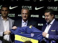 Burdisso analizó el presente de Boca. AFP