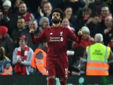 Salah participe plus au collectif qu'avant. AFP