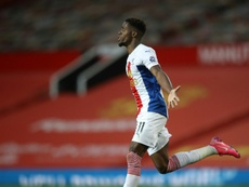 Crystal Palace risque toujours de perdre Wilfried Zaha. AFP