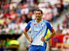 El delantero desempeñó casi toda su carrera en Alemania. AFP